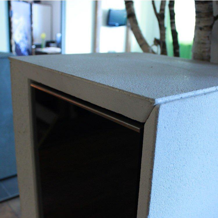 quatrini speicherofen ausstellungsmodell kaminofen shop. Black Bedroom Furniture Sets. Home Design Ideas