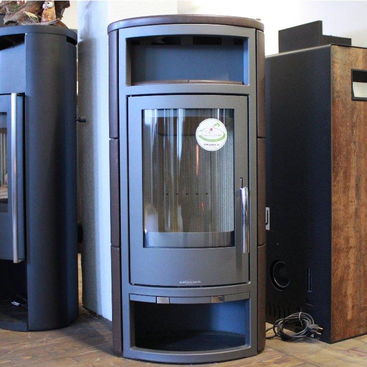 oranier polar 4 kachel coffee ausstellungsmodell kaminofen shop. Black Bedroom Furniture Sets. Home Design Ideas