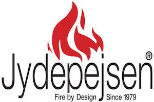 Hier sehen Sie das Logo von Jydepejsen Kaminofen